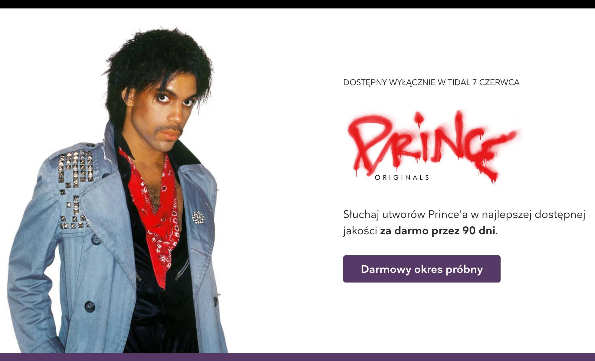 Tidal HiFi za darmo jak Prince Originals