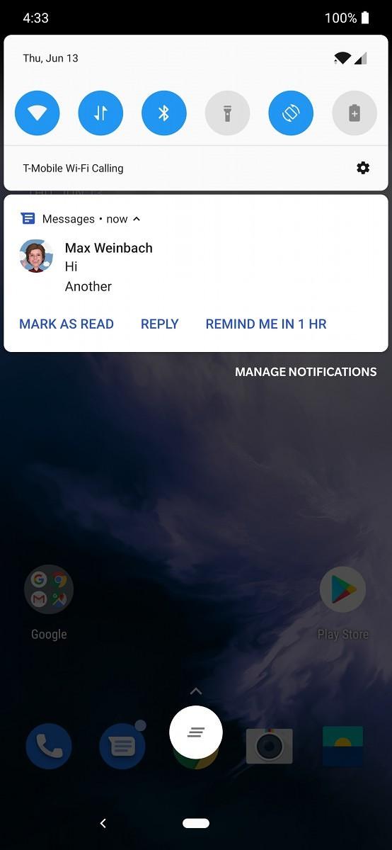 Wiadomości Google na Android przypomnienia SMS