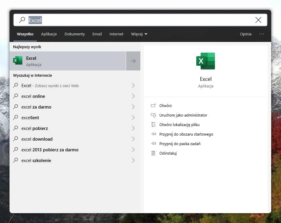 Windows 10 1903 zaokrąglone narożniki wyszukiwarka jak to włączyć