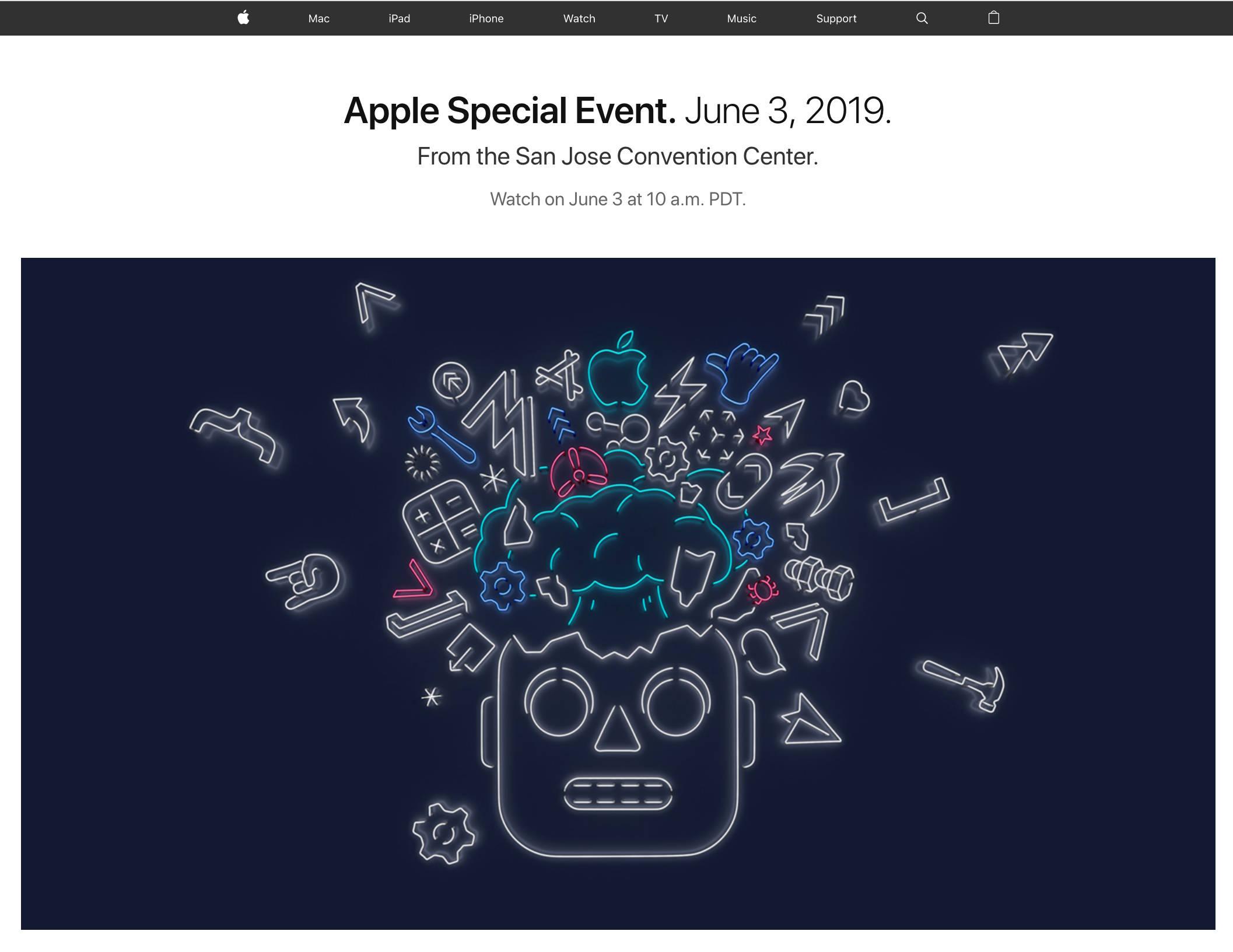 konferencja Apple WWDC 2019 gdzie oglądać live stream na żywo iOS 13 macOS 10.15