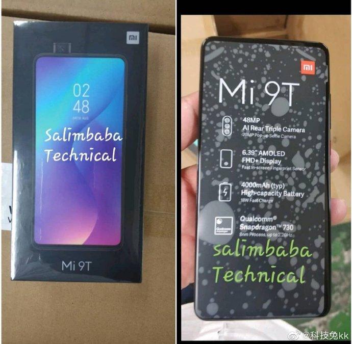 Xiaomi Mi 9T cena kiedy premiera Redmi K20 Pro specyfkacja techniczna plotki plotki przecieki wycieki opinie zdjęcia