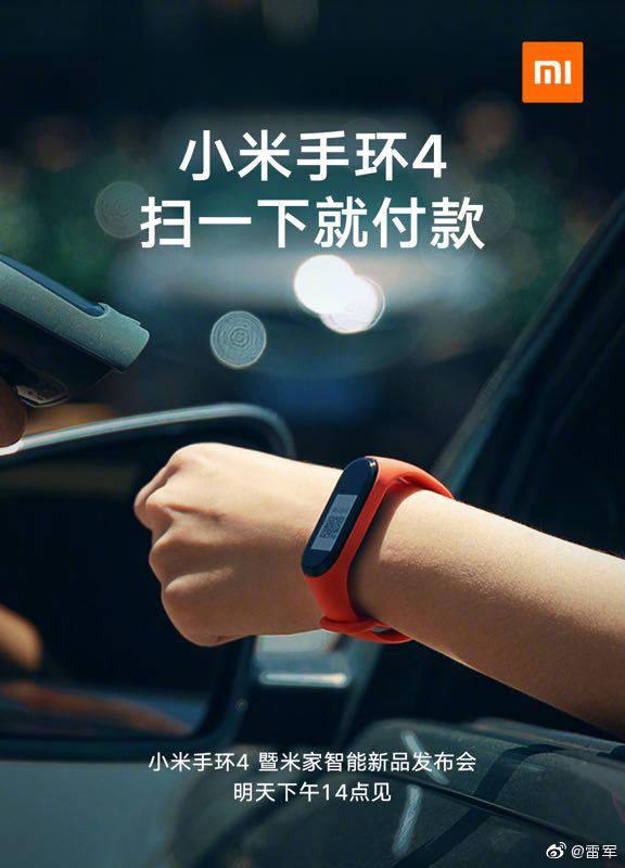 Xiaomi Mi Band 4 NFC płatności czy można płacić google pay