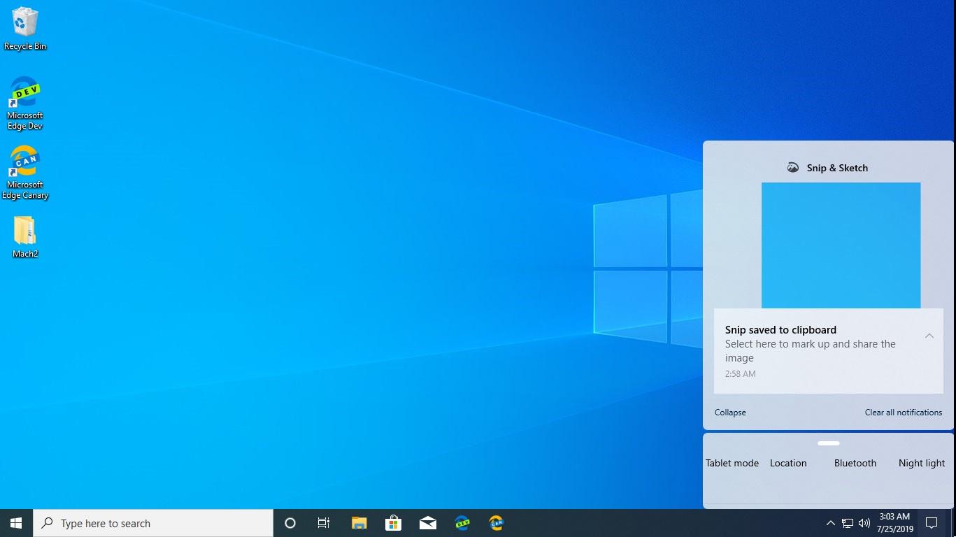 Nowe centrum akcji z Windows 10 20H1 kiedy premiera