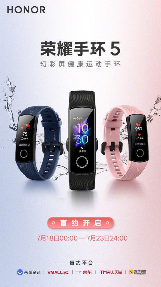 Honor Band 5 vs Xiaomi Mi Band 4 cena opinie gdzie kupić najtaniej w Polsce