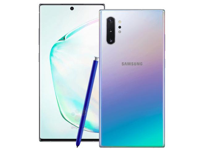 Samsung Galaxy Note 10 Plus cena specyfikacja techniczna S Pen przecieki plotki wycieki kiedy premiera