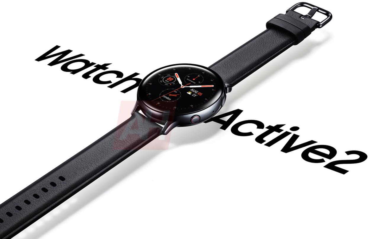 Samsung Galaxy Watch Active 2 smartwatche kiedy premiera render plotki przecieki wycieki specyfikacja techniczna cena