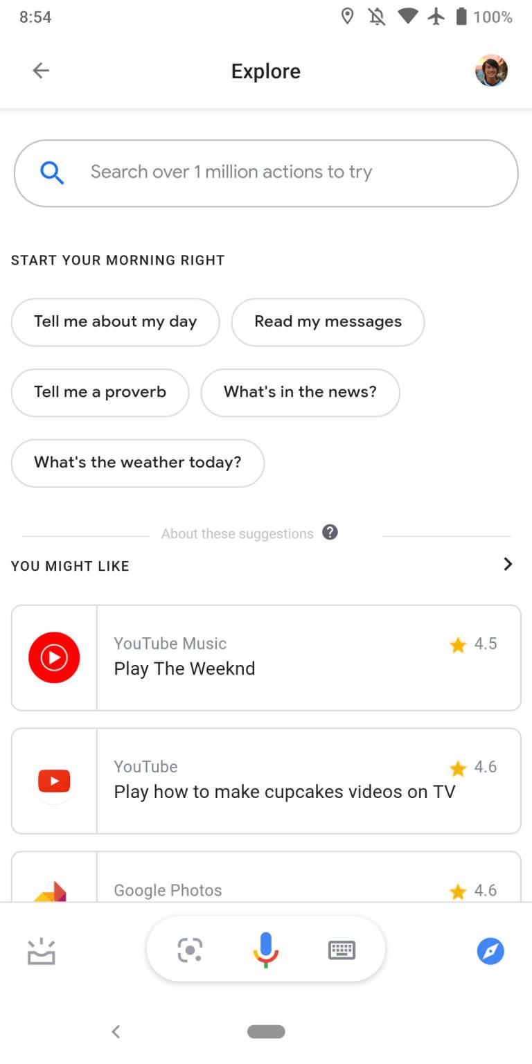 Asystent Google na zablokowanym ekranie Ambient Mode skróty Android Q