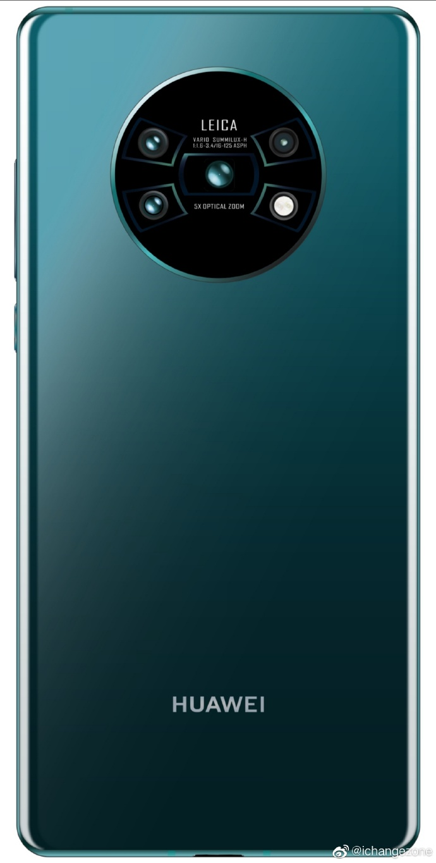 Huawei Mate 30 Pro render plotki przecieki kiedy premiera wycieki aparat