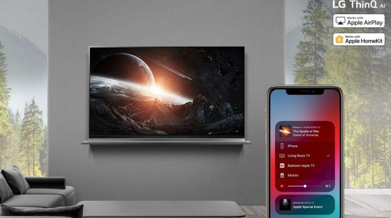 Telewizory Smart TV LG które modele dostaną AirPlay 2 HomeKit Apple TV