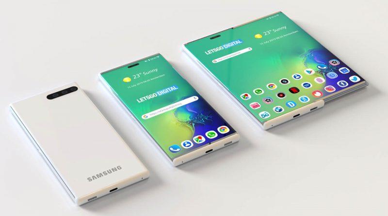 Samsung Galaxy S11 zwijany ekran patenty plotki przecieki wycieki opinie kiedy premiera