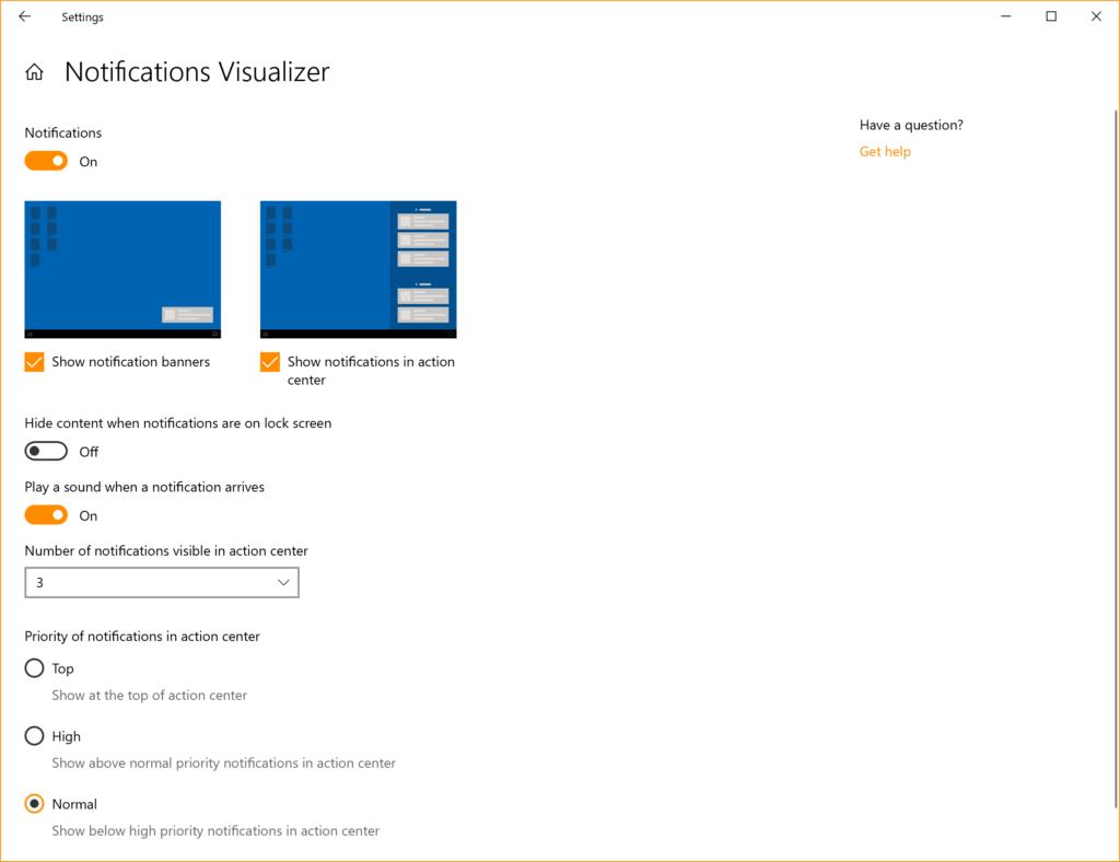 Windows 10 2003 20H1 udoskonalone powiadomienia