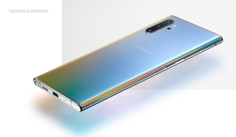 Samsung Galaxy Note 10 design inspiracje specyfikacja techniczna opinie cena przedsprzedaż