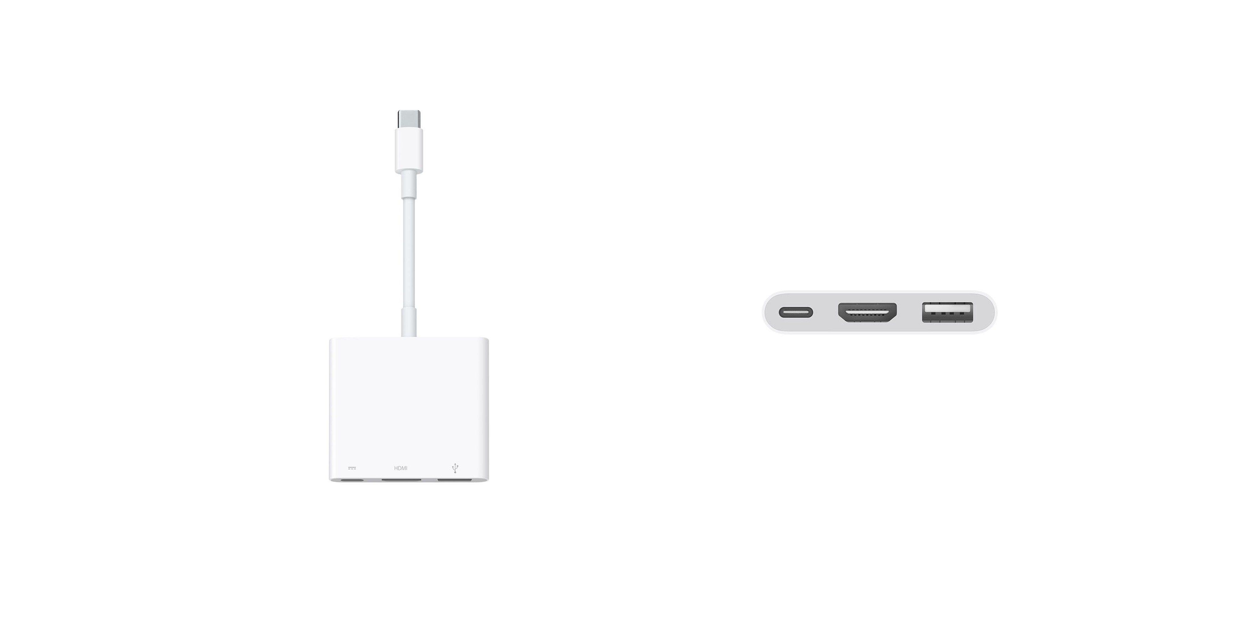 Apple przejściówka z USB C na cyfrowe AV