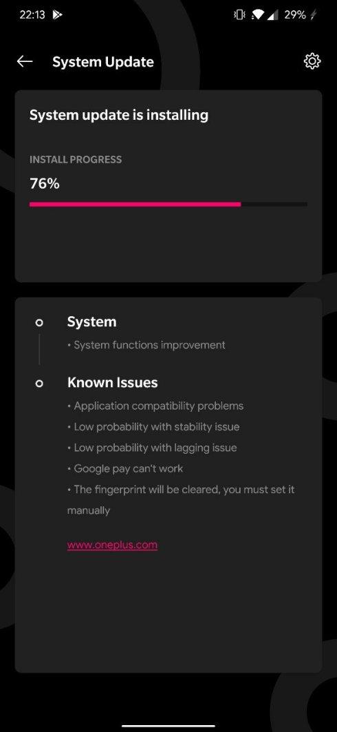 Android Q beta 4 dla OnePlus 7 Pro 6T kiedy premiera OxygenOS 10