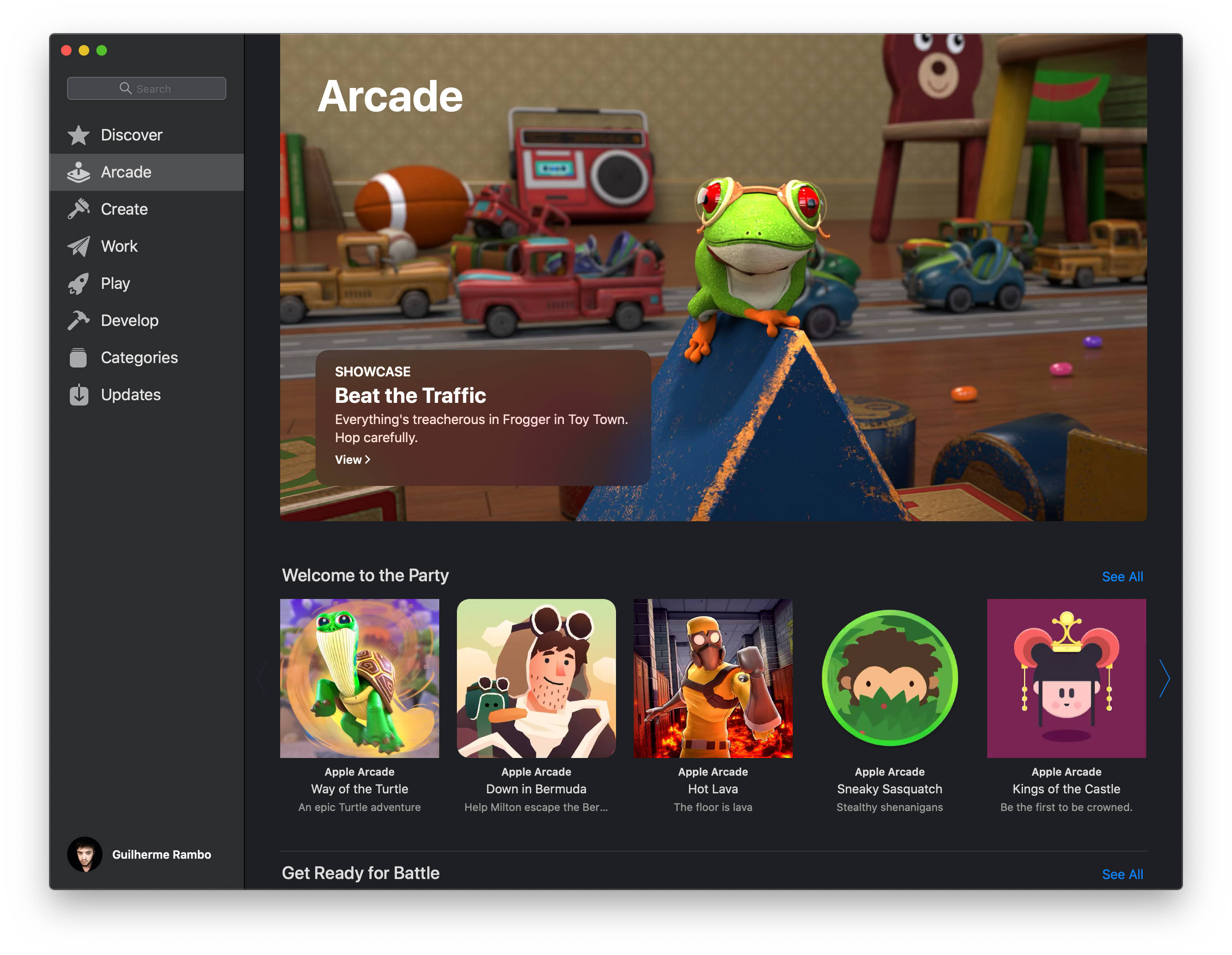 Testy Apple Arcade beta Mac App Store usługa do gier kiedy premiera iOS 13