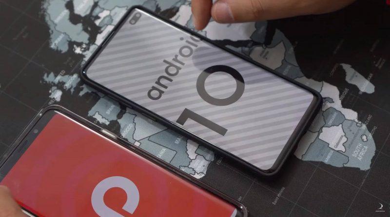 Samsung Galaxy S10 aktualizacja Android 10 nakładka One UI wideo co nowego nowości nowe funkcje kiedy