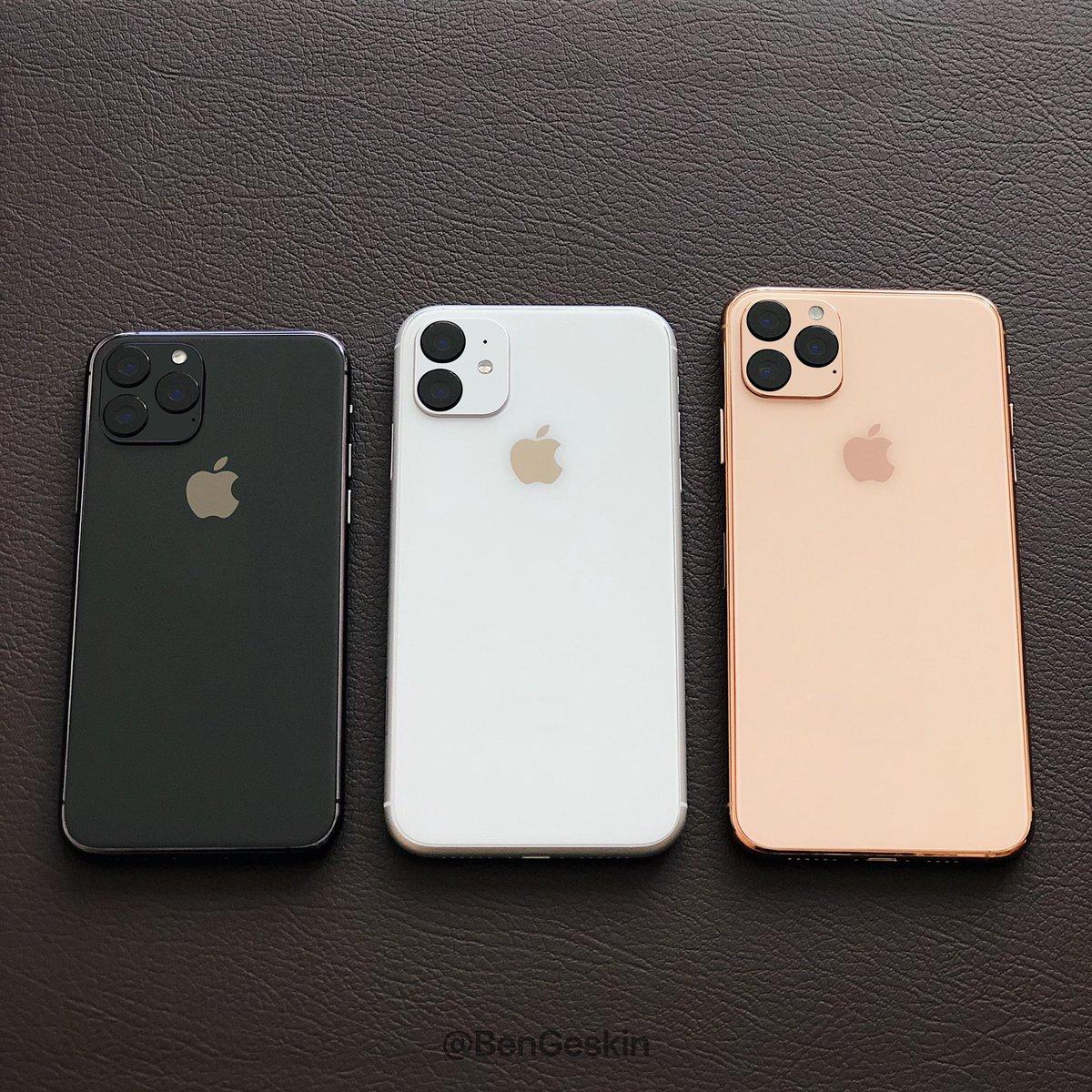 iPhone 11 cena kiedy premiera specyfikacja techniczna kiedy przedsprzedaż plotki przecieki wycieki iOS 13 Apple A13 iPhone Pro