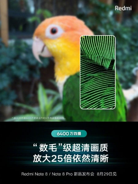 Xiaomi Redmi Note 8 Pro aparat 25-krotny zoom kiedy premiera plotki przecieki wycieki specyfikacja techniczna opinie