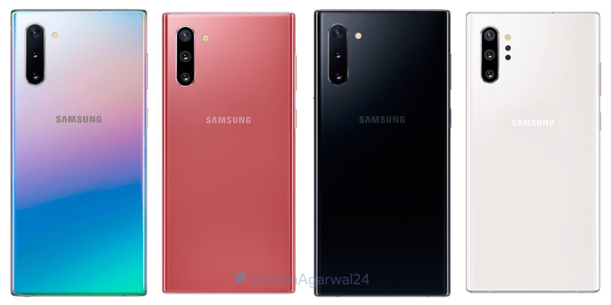 Samsung Galaxy Note 10 cena kiedy premiera specyfikacja techniczna gdzie kupić najtaniej w Polsce przedsprzedaż jakie kolory obudowy przecieki wycieki plotki Exynos 9825