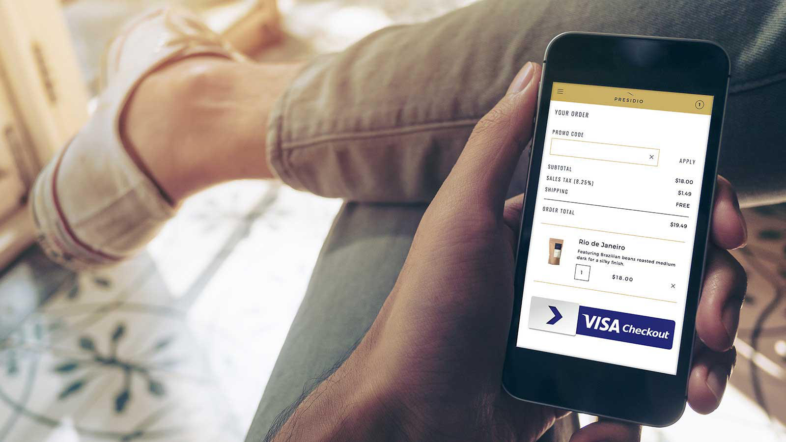 Google Pay Visa Checkout płatności telefonem w internecie