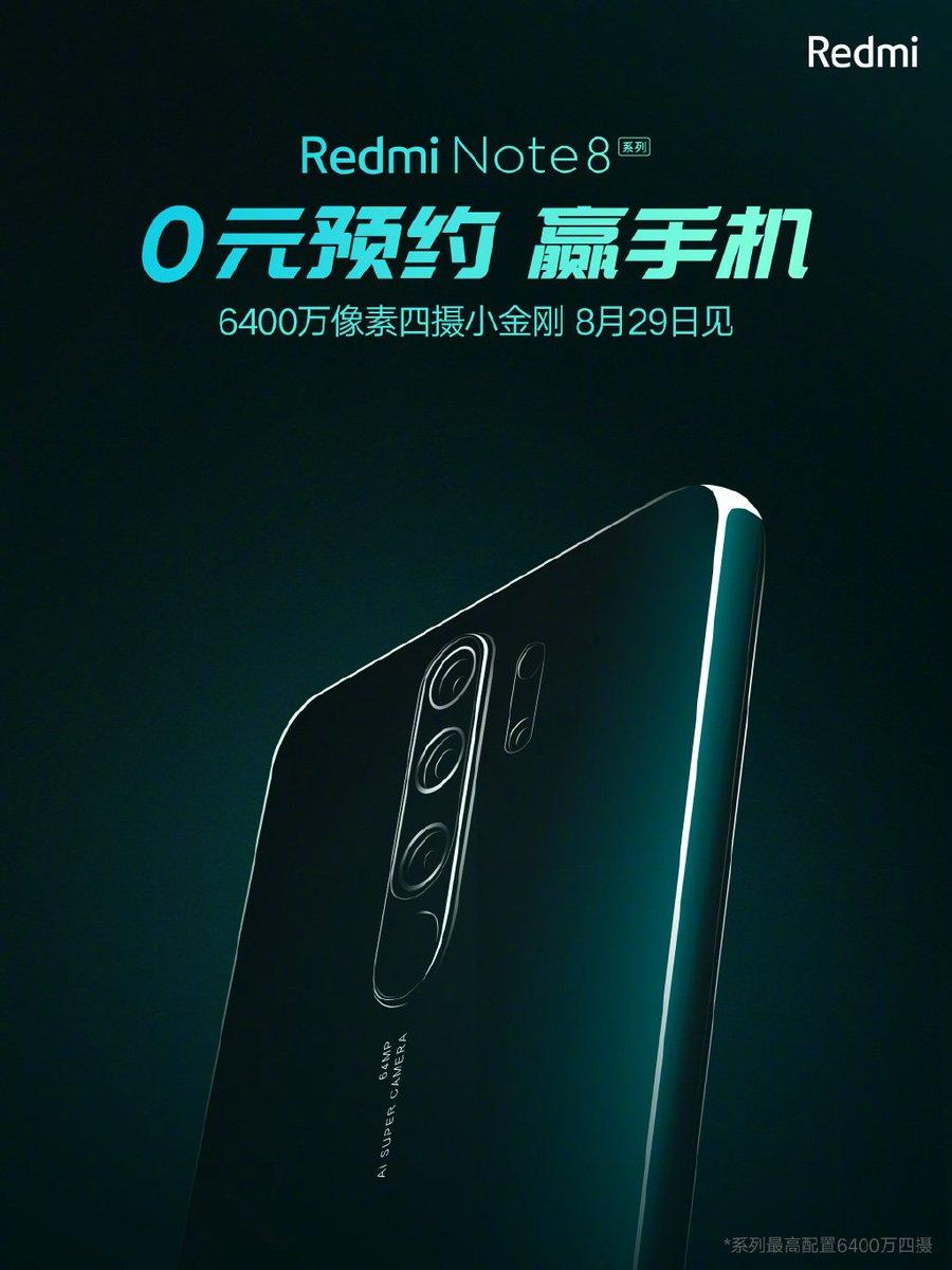 Xiaomi Redmi Note 8 Pro kiedy premiera plotki przecieki wycieki specyfikacja techniczna opinie aparat