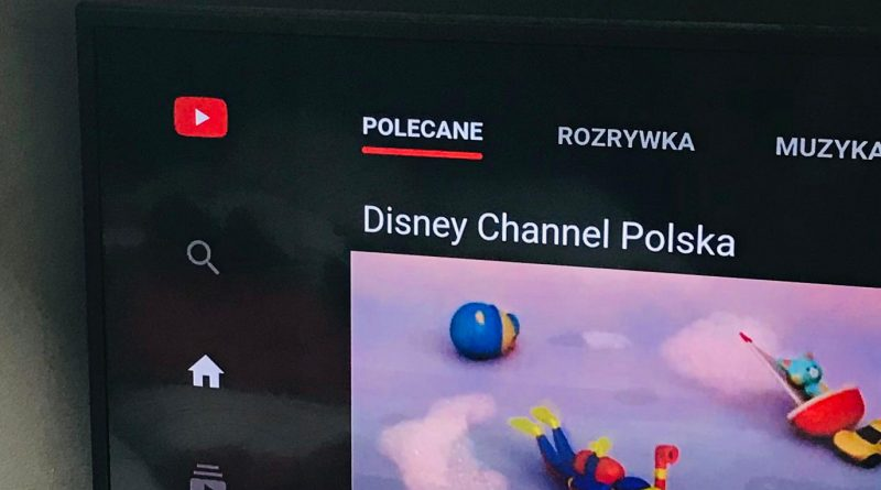 Nowy YouTube na telewizory Android TV