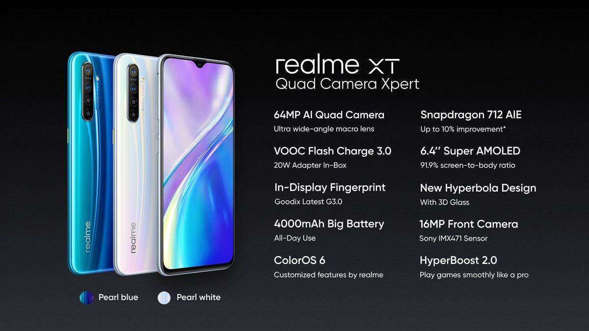 premiera Realme XT cena Redmi Note 8 Pro specyfikacja techniczna Oppo opinie gdzie kupić najtaniej w Polsce