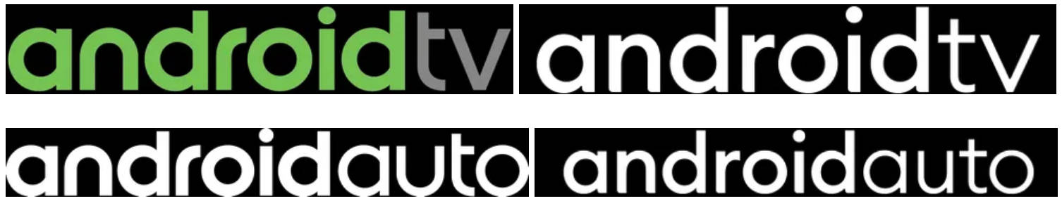 nowe logo Android Auto Android TV Android One Google Android 10