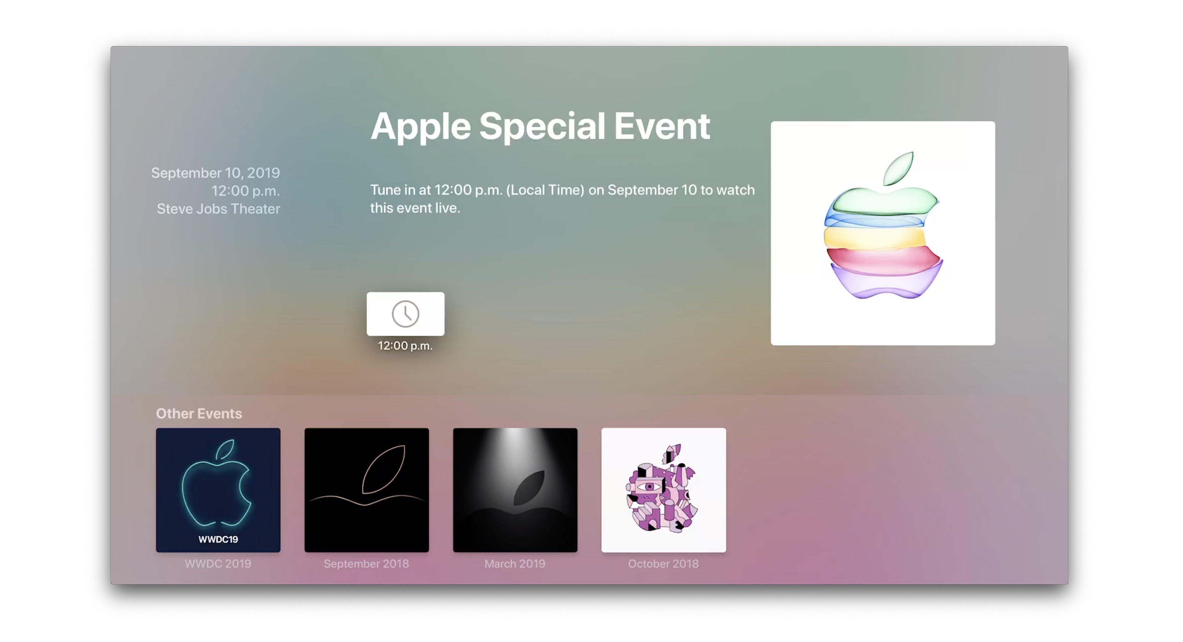 iPhone 11 2019 kiedy premiera aplikacja konferencja Apple Events na Apple TV gdzie oglądać live stream