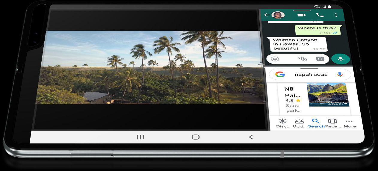 składany smartfon Samsung Galaxy Fold zoptymalizowane aplikacje kiedy premiera cena gdzie kupić najtaniej w Polsce opinie