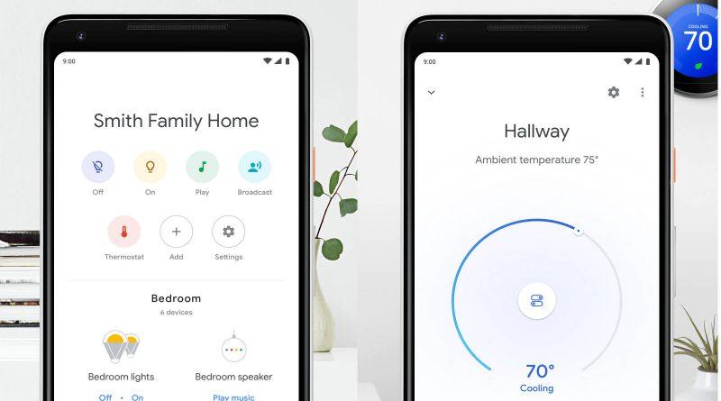 Google Home App cast chromecast ekran odtwarzania przesyłanej muzyki