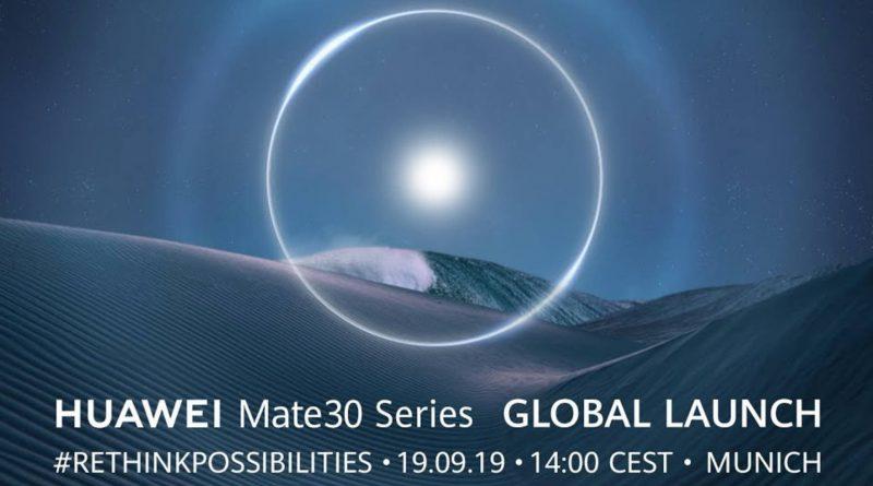 Premiera Huawei Mate 30 Pro gdzie oglądać live stream konferencja Huawei plotki przecieki wycieki