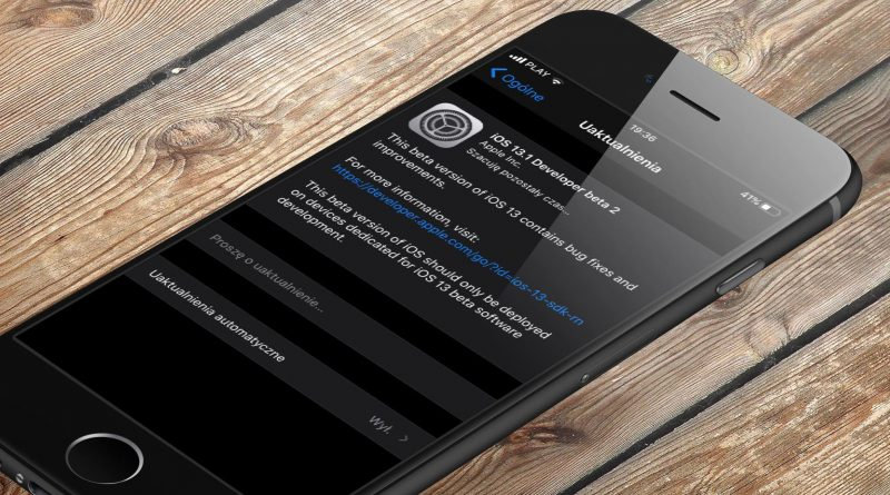 Apple iPhone kiedy iOS 13.1 beta 2 aktualizacja nowości co nowego