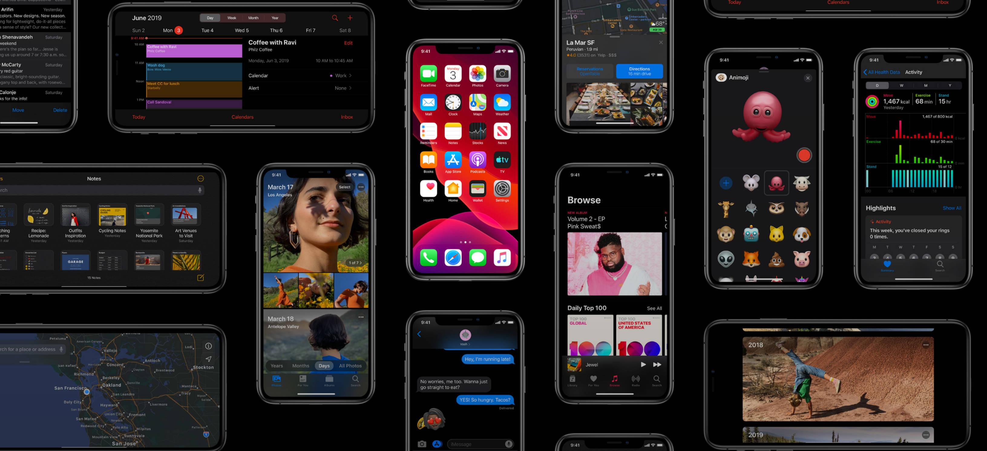 Apple iOS 13.1 premiera kiedy gdzie pobrać jak zainstalować iPhone iPadOS 13.1 opinie czy warto informacje co nowego nowości tvOS 13 kiedy macOS Catalina