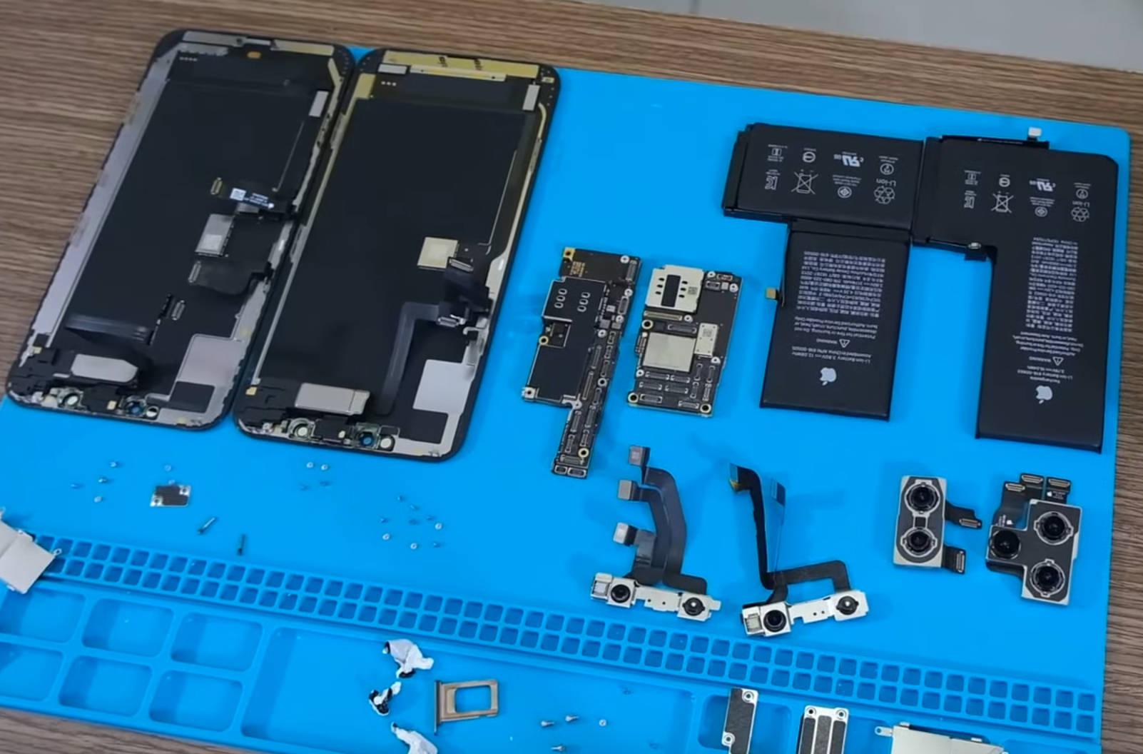 Apple iPhone 11 Pro Max rozebrany specyfikacja tecniczna opinie jaka bateria cena