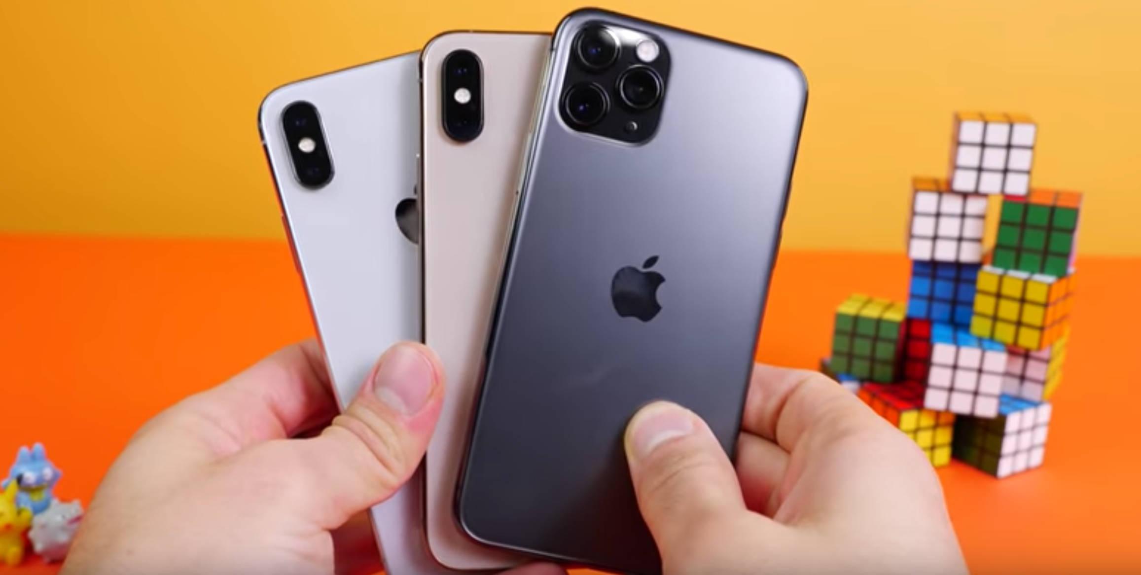iPhone 11 Pro vs iPhone Xs test uruchamiania aplikacji który lepszy opinie