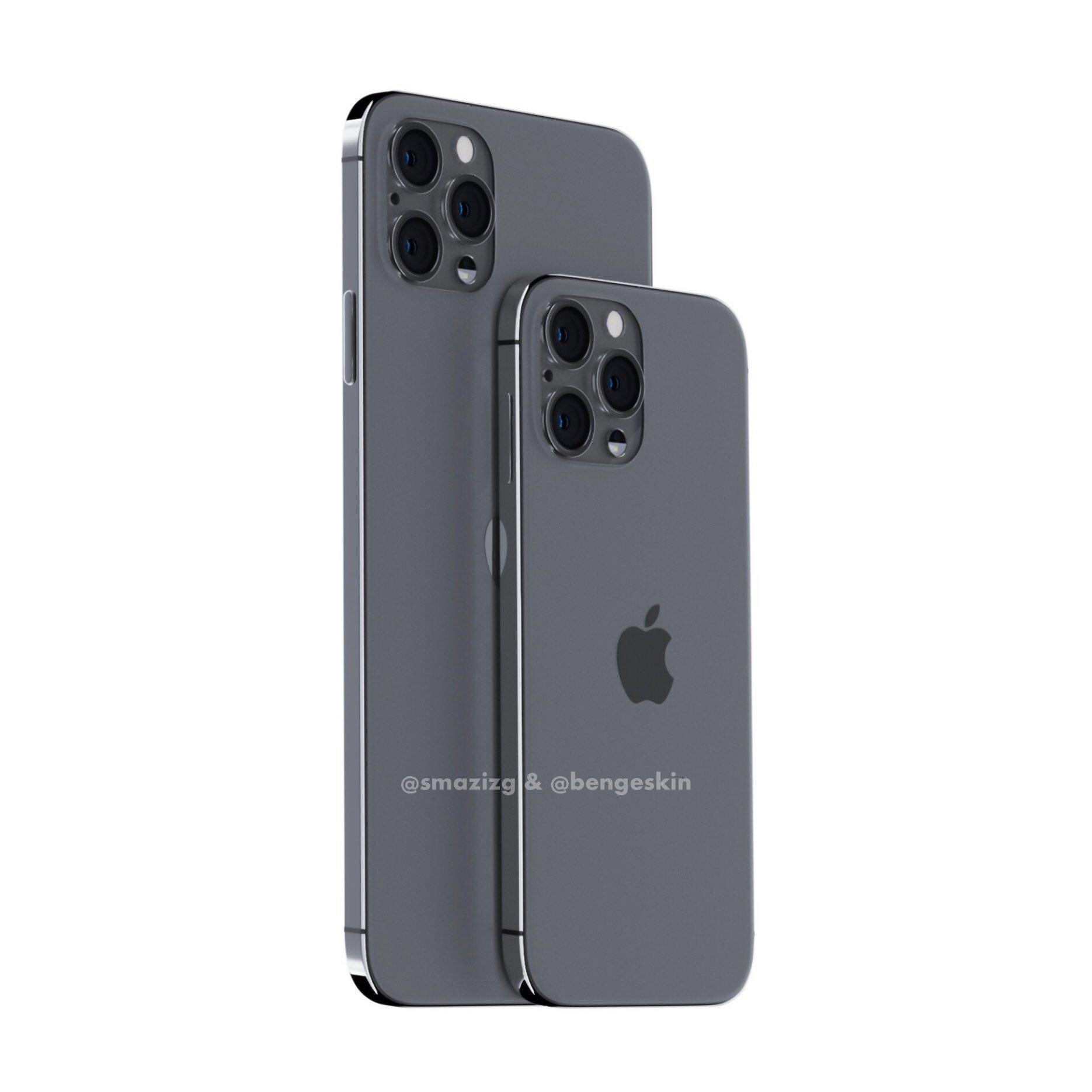 Apple iPhone 2020 koncept rendery wygląd plotki przecieki wycieki kiedy premiera iPhone 12