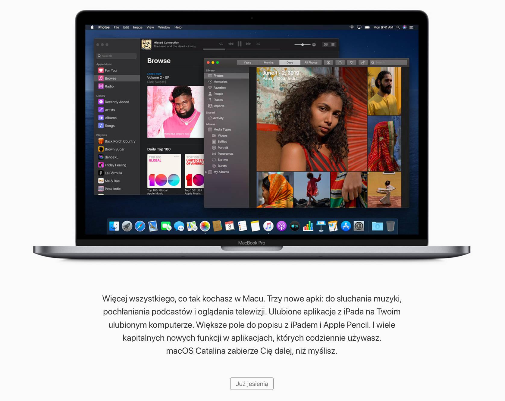 Apple macOS Catalina kiedy iOS 13 watchOS 6 tvOS 13 aktualizacja