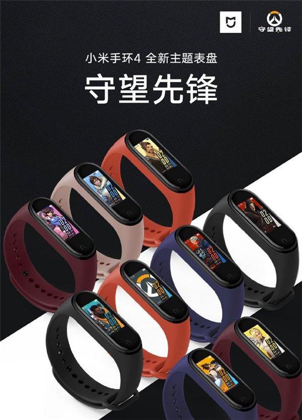 Xiaomi Mi band 4 aktualizacja nowe tarcze opinie