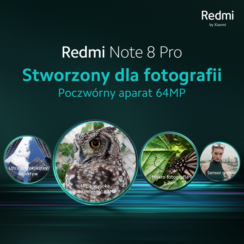 Redmi Note 8 pro cena premiera w Polsce gdzie oglądać live stream transmisja na Facebooku Xiaomi Polska opinie