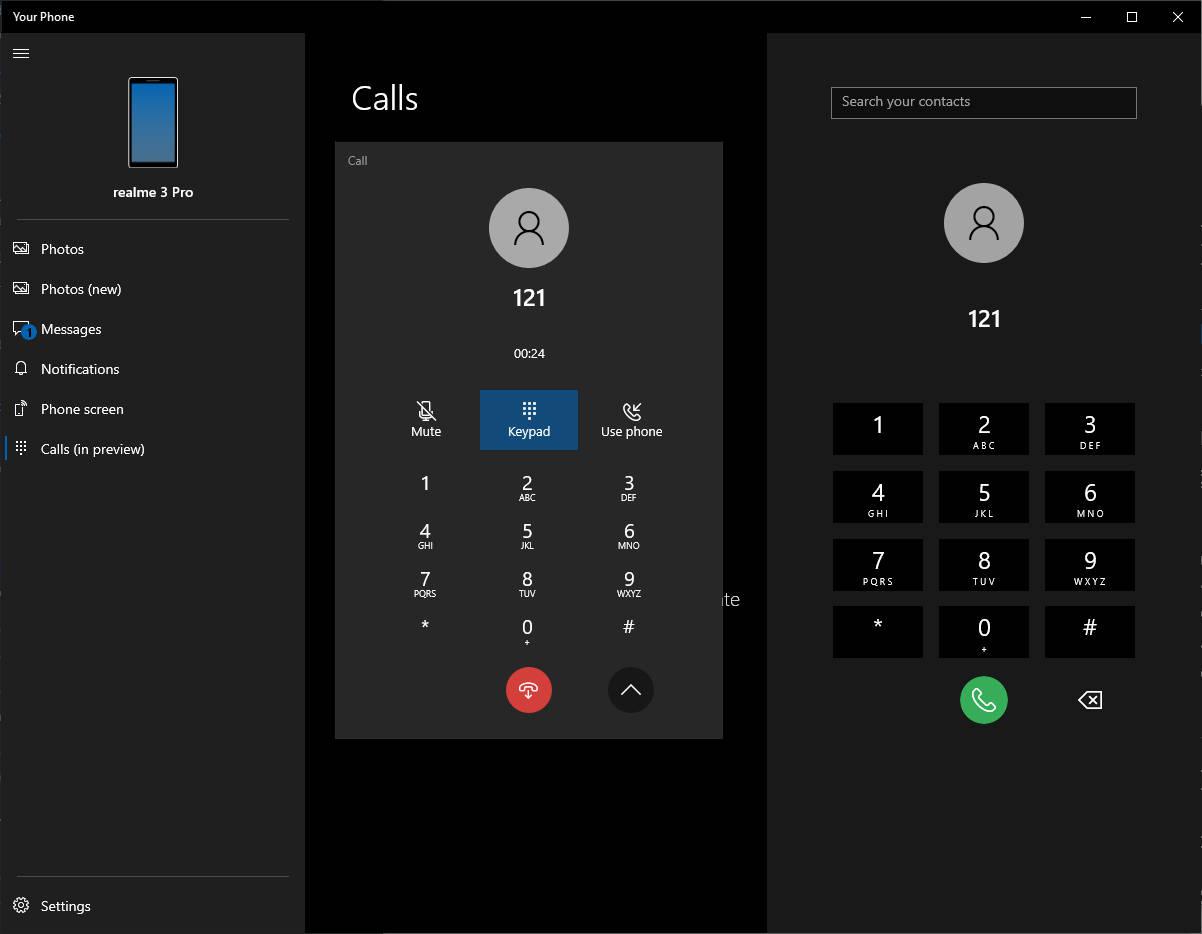 Twój telefon z Windows 10 aplikacje dzwonienie połączenia telefoniczne