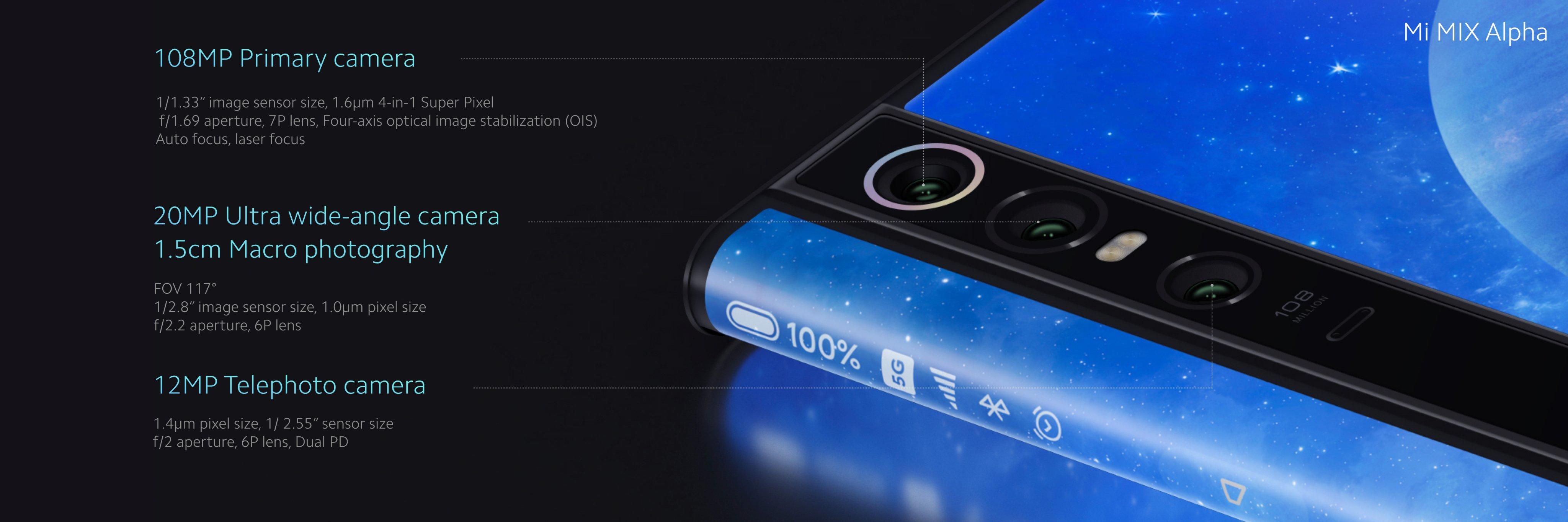 Xiaomi Mi Mix Alpha cena premiera Mi Mix 4 specyfikacja techniczna koncepcyjny smartfon opinie gdzie kupić najtaniej w Polsce aparat 108 MP