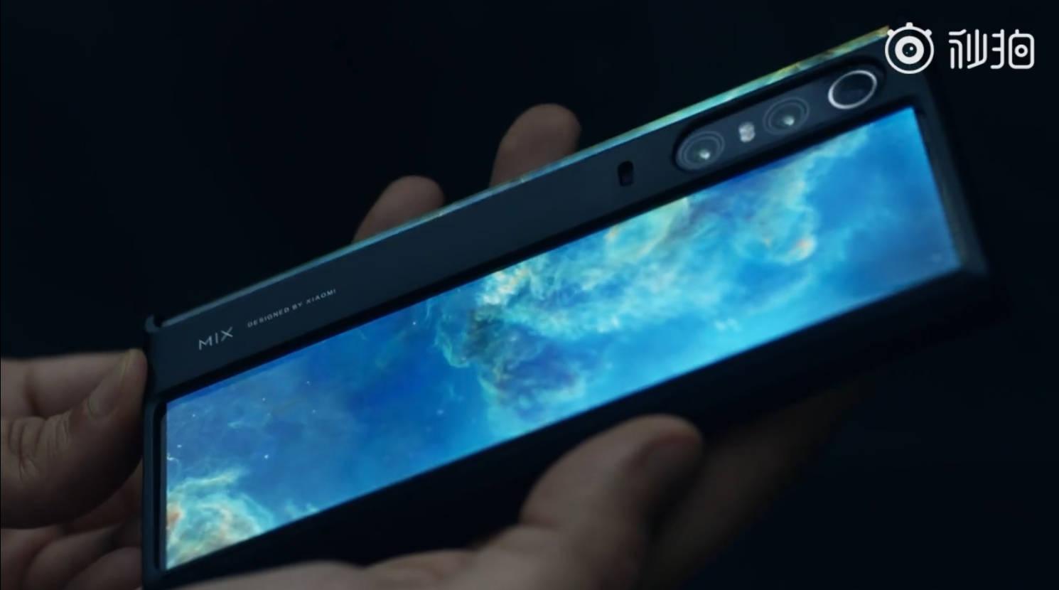 Xiaomi Mi Mix Alpha unboxing etui case opinie smartfon z przyszłości