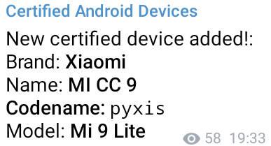 Xiaomi Mi 9 Lite zamiast Xiaomi Mi A3 Pro kiedy premiera plotki przecieki specyfikacja techniczna opinie