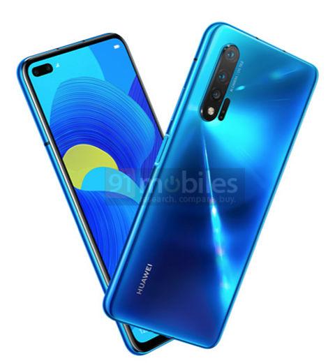 Huawei Nova 6 5G kiedy premiera plotki przecieki wycieki rendery specyfikacja techniczna opinie Samsung Galaxy S10 Plus