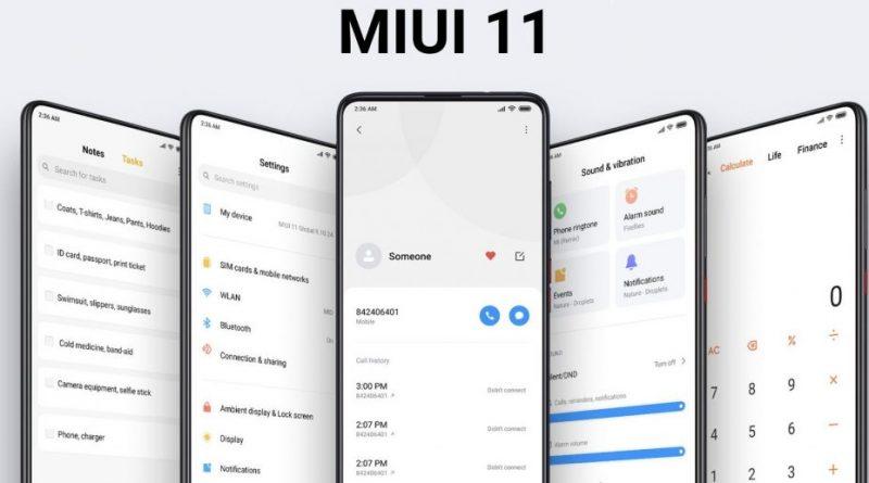 MIUI 11 Global Beta kiedy na smartfony Xiaomi Redmi aktualizacja data premiery dźwięki powiadomień