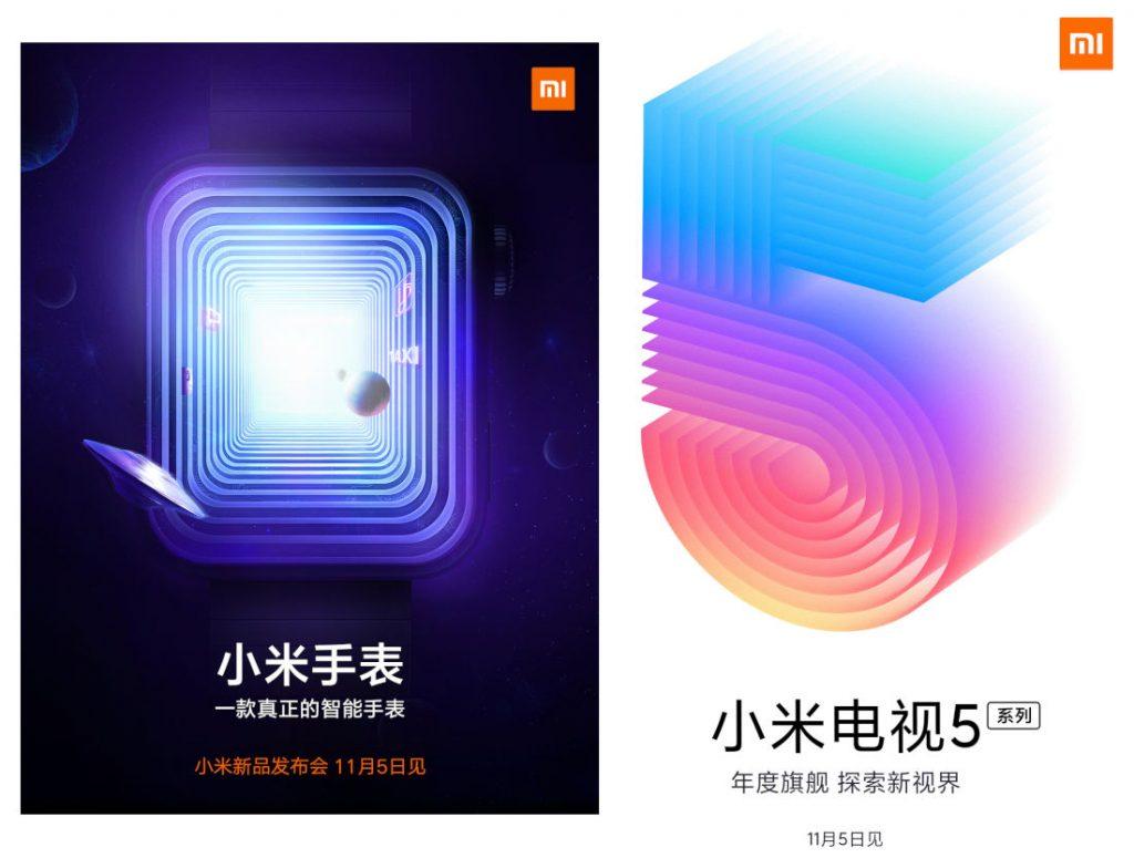 Xiaomi Mi Watch Mi CC9 Pro Mi TV 5 kiedy premiera plotki przecieki wycieki data premiery specyfikacja techniczna