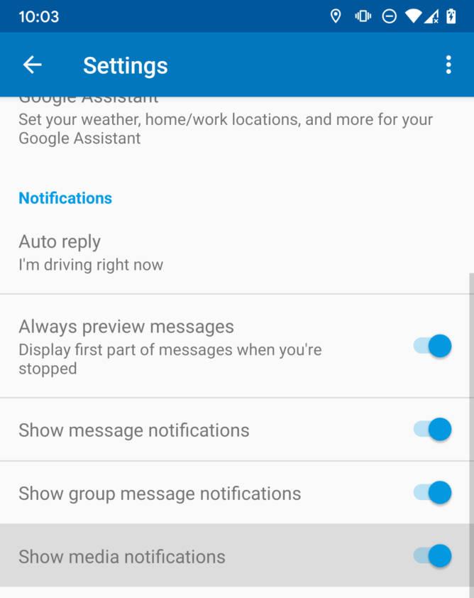 Android Auto 4.7 powiadomienia co nowego aktualizacja
