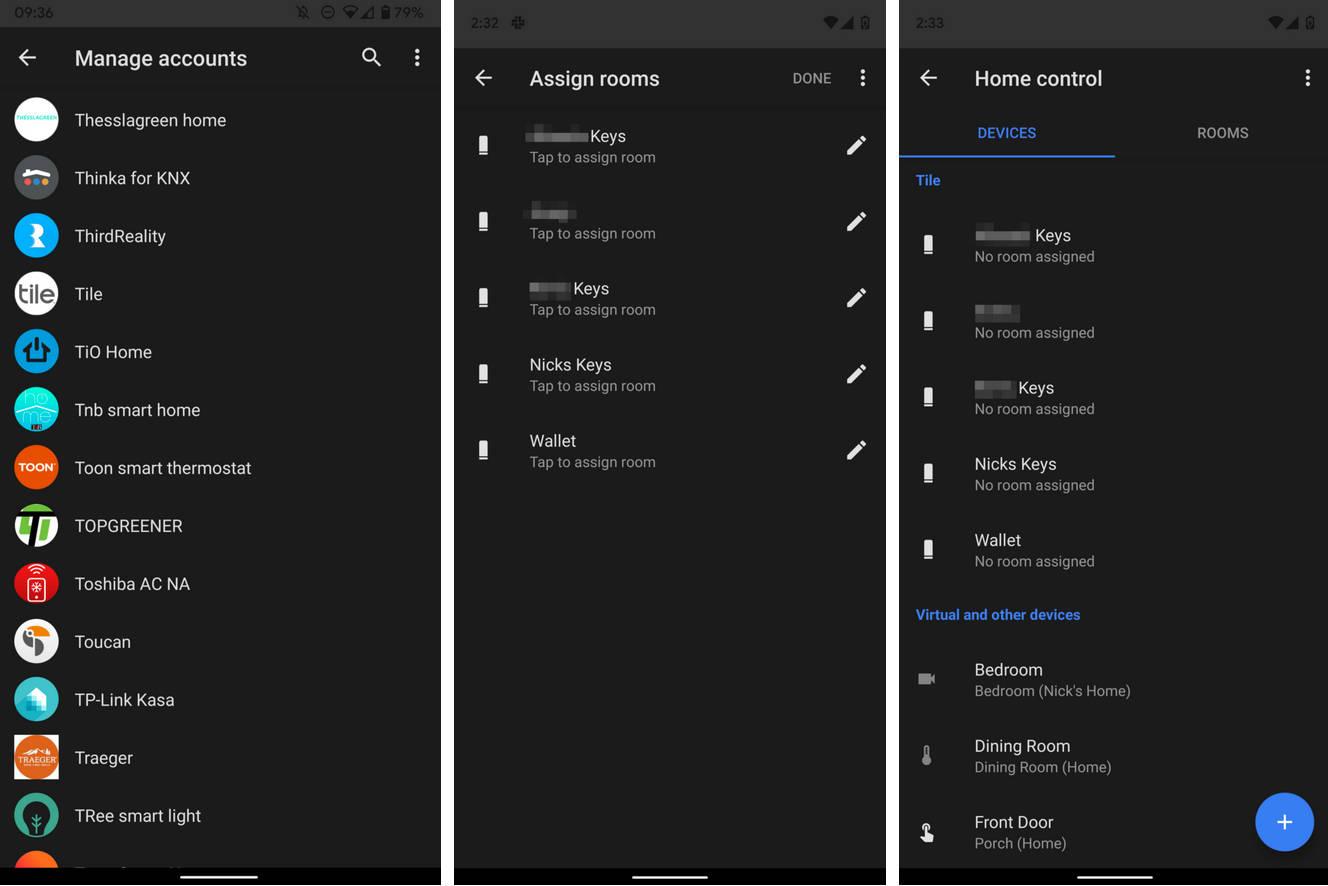 Asystent Google lokalizatory Bluetooth tile