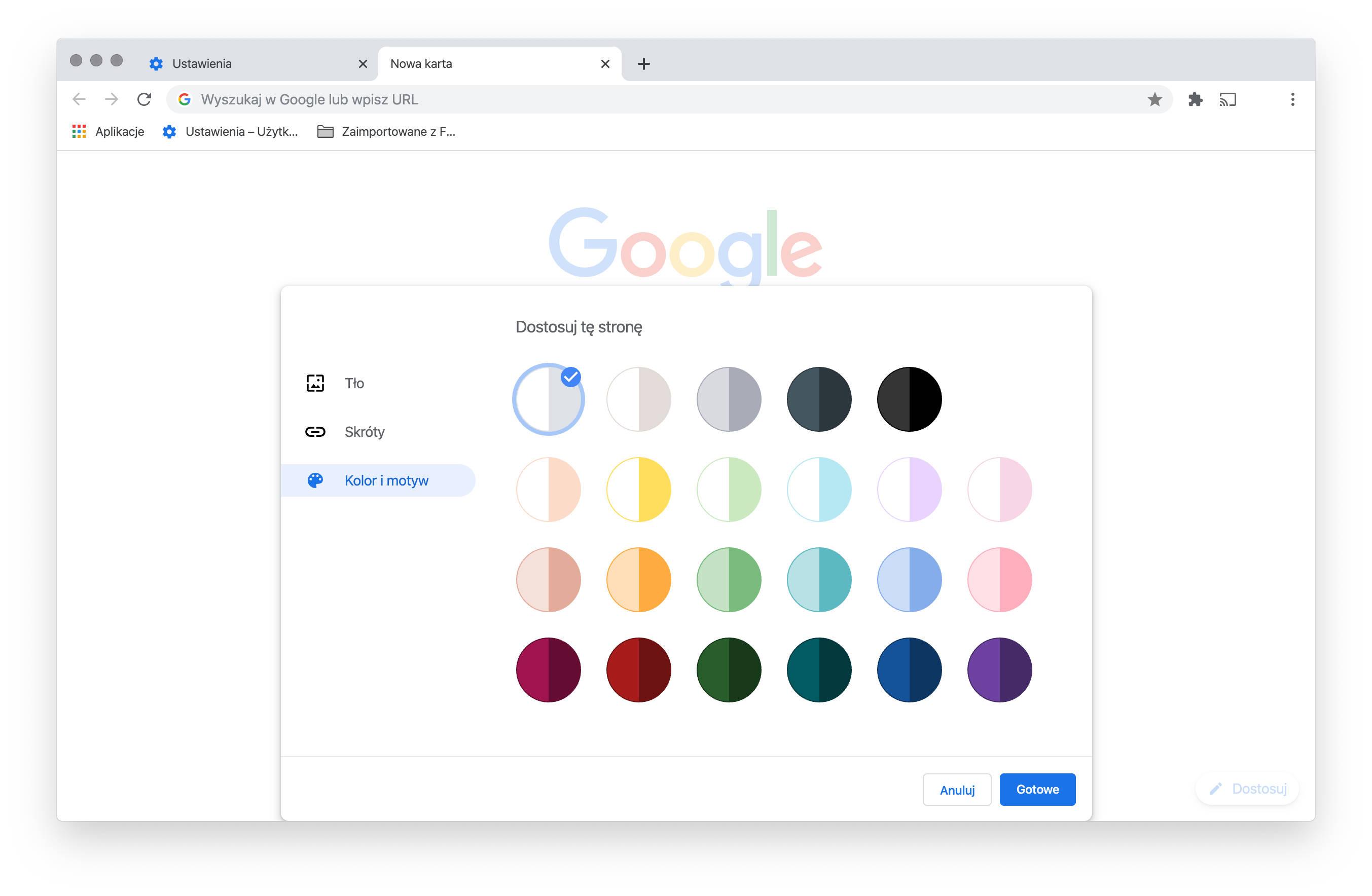 Google Chrome 78 co nowego nowości nowe funkcje